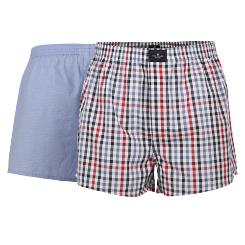 Boxershorts Tom Tailor - 2 Pack - Multi Lichtblauw (1)