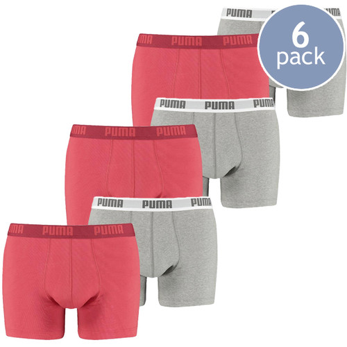 Puma boxershorts red - 6 Pack (1)