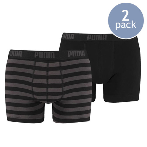 Puma boxershorts black striped (1)