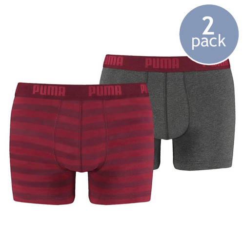 Puma boxershorts red striped (1)